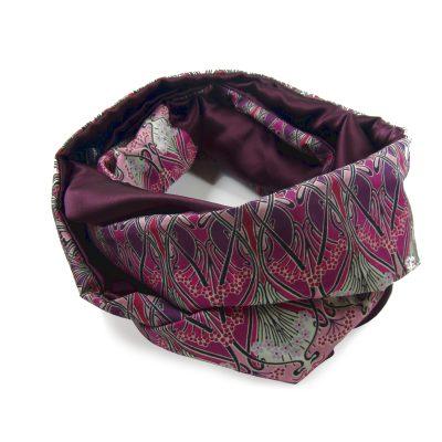 Liberty print silk infinity scarf peregrine jude