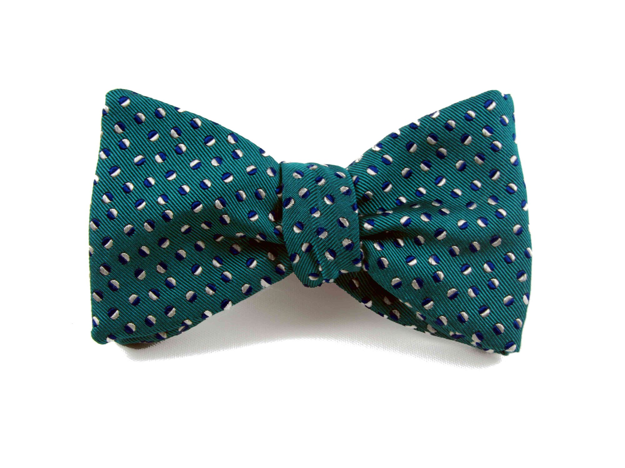 Peregrine Jude Green Silk Bow Tie