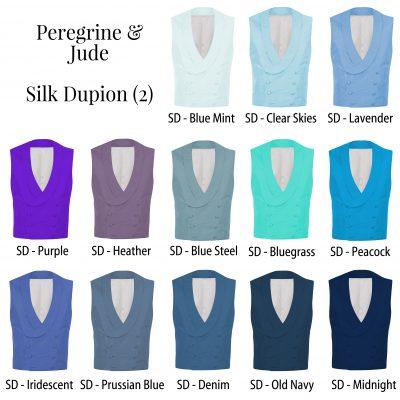 Peregrine Jude Silk Waistcoats