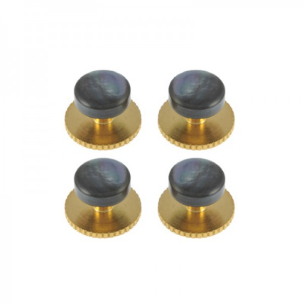 Smoked MOP Domed studs